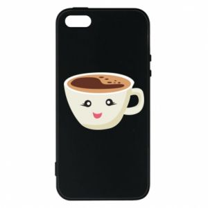 Etui na iPhone 5/5S/SE A cup of coffee