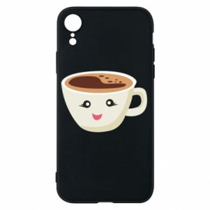 Etui na iPhone XR A cup of coffee