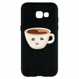 Etui na Samsung A5 2017 A cup of coffee
