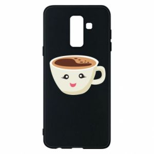 Etui na Samsung A6+ 2018 A cup of coffee
