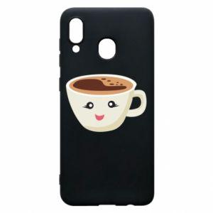 Etui na Samsung A20 A cup of coffee