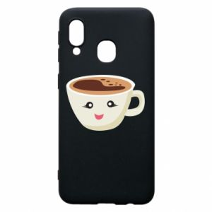 Etui na Samsung A40 A cup of coffee