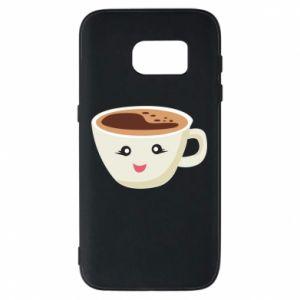 Etui na Samsung S7 A cup of coffee