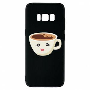 Etui na Samsung S8 A cup of coffee