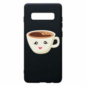 Etui na Samsung S10+ A cup of coffee