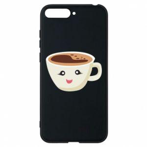 Etui na Huawei Y6 2018 A cup of coffee