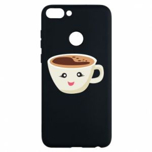 Phone case for Huawei P Smart A cup of coffee - PrintSalon