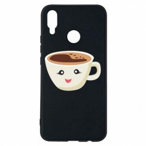 Etui na Huawei P Smart Plus A cup of coffee
