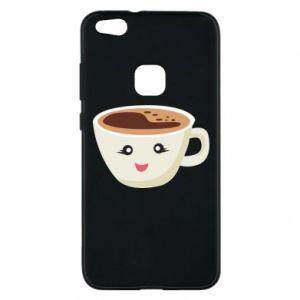 Etui na Huawei P10 Lite A cup of coffee