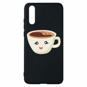 Etui na Huawei P20 A cup of coffee