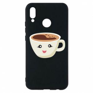 Etui na Huawei P20 Lite A cup of coffee