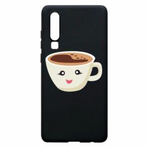 Etui na Huawei P30 A cup of coffee