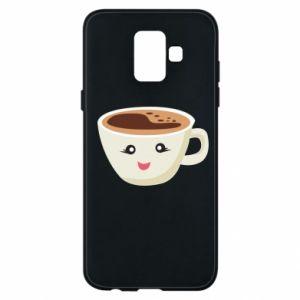 Etui na Samsung A6 2018 A cup of coffee