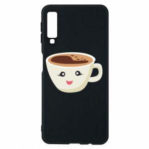 Etui na Samsung A7 2018 A cup of coffee