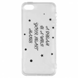Phone case for iPhone 5/5S/SE A dream is a wish your heart makes, for her