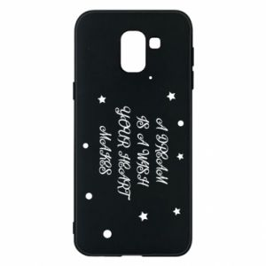 Phone case for Samsung J6 A dream is a wish your heart makes, for her