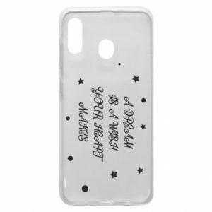 Phone case for Samsung A20 A dream is a wish your heart makes, for her