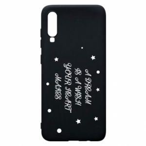 Phone case for Samsung A70 A dream is a wish your heart makes, for her