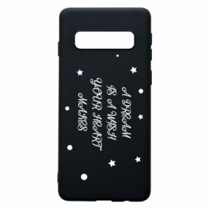 Phone case for Samsung S10 A dream is a wish your heart makes, for her