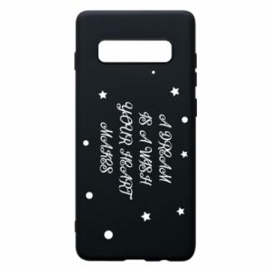 Phone case for Samsung S10+ A dream is a wish your heart makes, for her