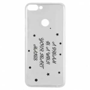 Phone case for Huawei P Smart A dream is a wish your heart makes, for her