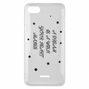 Phone case for Xiaomi Redmi 6A A dream is a wish your heart makes, for her