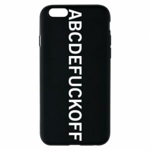 Phone case for iPhone 6/6S Abcdefuckoff