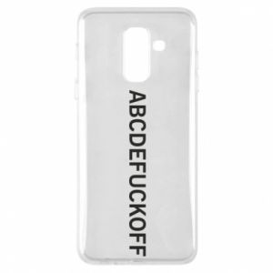 Phone case for Samsung A6+ 2018 Abcdefuckoff
