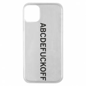 Etui na iPhone 11 Pro Abcdefuckoff
