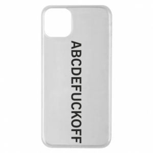 Etui na iPhone 11 Pro Max Abcdefuckoff