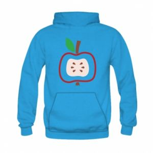 Bluza z kapturem dziecięca Abstract apple