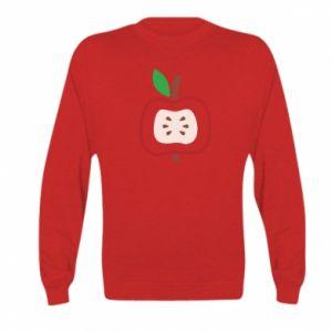 Bluza dziecięca Abstract apple