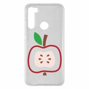 Etui na Xiaomi Redmi Note 8 Abstract apple
