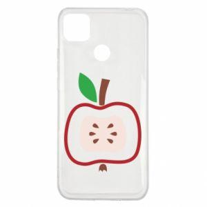 Etui na Xiaomi Redmi 9c Abstract apple