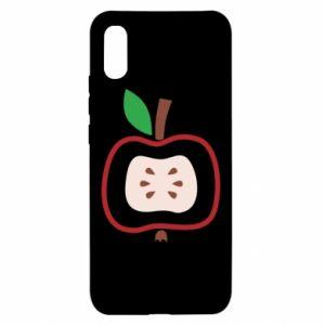 Etui na Xiaomi Redmi 9a Abstract apple