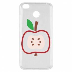 Etui na Xiaomi Redmi 4X Abstract apple