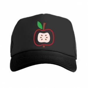Czapka trucker Abstract apple