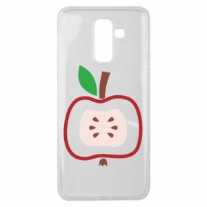 Etui na Samsung J8 2018 Abstract apple