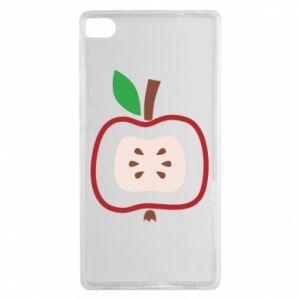Etui na Huawei P8 Abstract apple