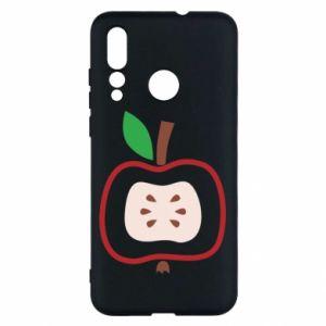 Etui na Huawei Nova 4 Abstract apple
