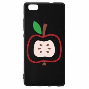 Etui na Huawei P 8 Lite Abstract apple
