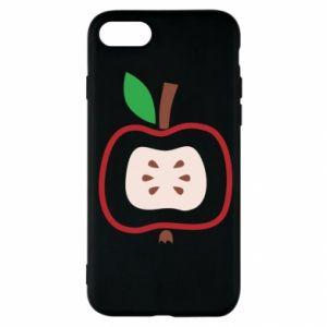 Etui na iPhone SE 2020 Abstract apple