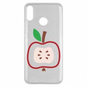 Etui na Huawei Y9 2019 Abstract apple