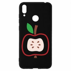 Etui na Huawei Y7 2019 Abstract apple