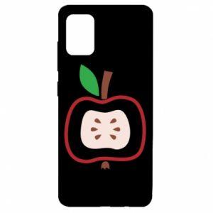 Etui na Samsung A51 Abstract apple