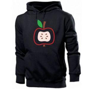 Bluza z kapturem męska Abstract apple