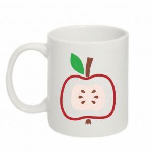 Kubek 330ml Abstract apple