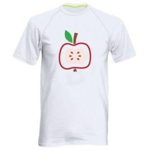 Koszulka sportowa męska Abstract apple