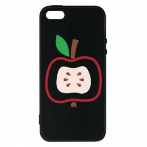 Etui na iPhone 5/5S/SE Abstract apple