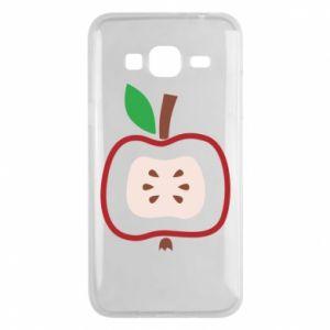Etui na Samsung J3 2016 Abstract apple
